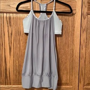 Lululemon gray no limits tank top